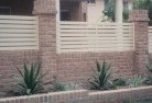 Axe Creek Brick fencing 12