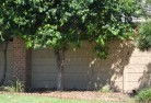 Axe Creek Brick fencing 22