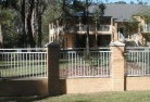 Axe Creek Brick fencing 9